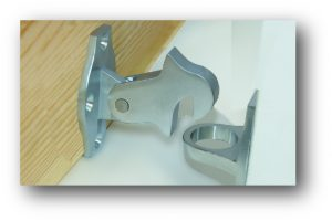 Door Catch -Hook & Hold - Heavy Duty - Adelaide Restoration Centre
