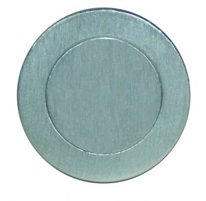 Escutcheon Cover Plate - 52mm Blank - Adelaide Restoration Centre