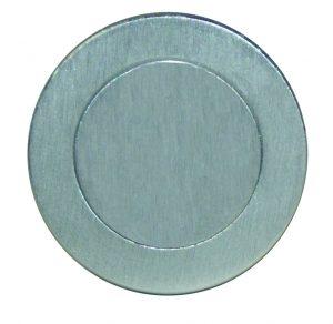 Escutcheon Cover Plate - 52mm Blank - Adelaide Restoration Centre