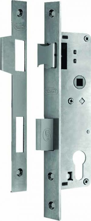 Stainless Steel Euro Cyl. Entrance Lock c/c 85mm - Adelaide Restoration Centre