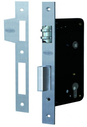 Roller Lock Entrance S/S 60mm - Adelaide Restoration Centre