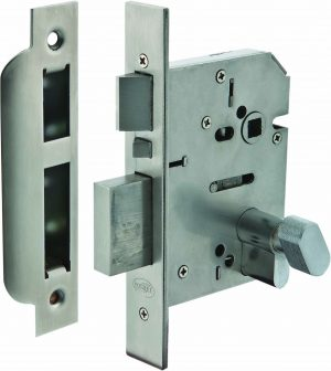 304 S/Steel High Sec. Entrance/Emergency Escape Lock (Dead Bolt) - Adelaide Restoration Centre